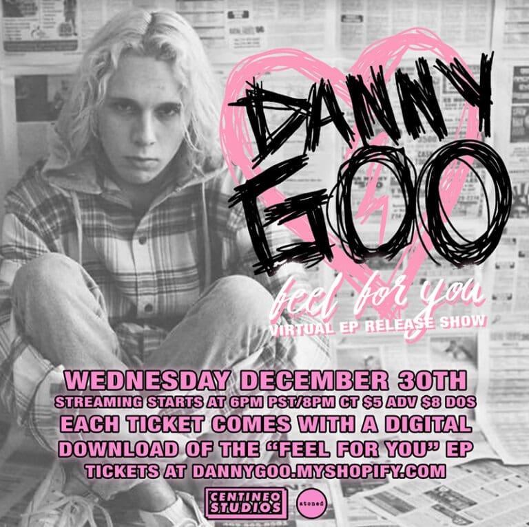 Danny Goo Announces Livestream Event on December 30th