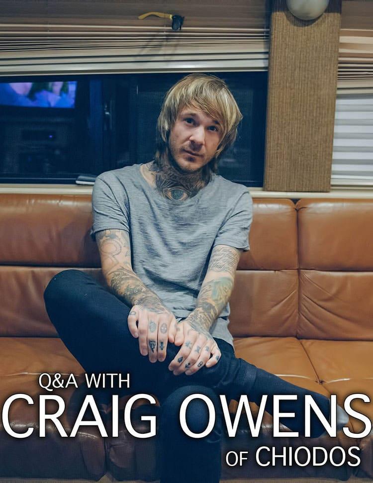 Q&A with Craig Owens of Chiodos